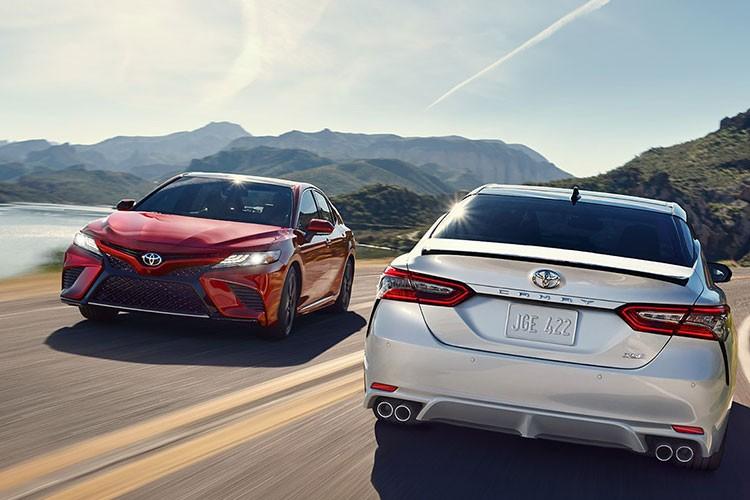 Toyota Camry 2018 ra mat tai Australia gia 628 trieu dong-Hinh-11
