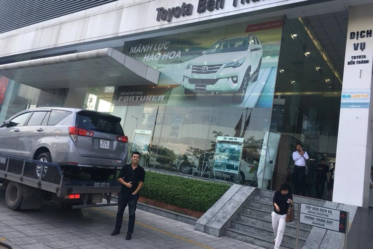 "Toyota Vios mang bien ""ngu quy 9"" tai Ha Noi-Hinh-4"