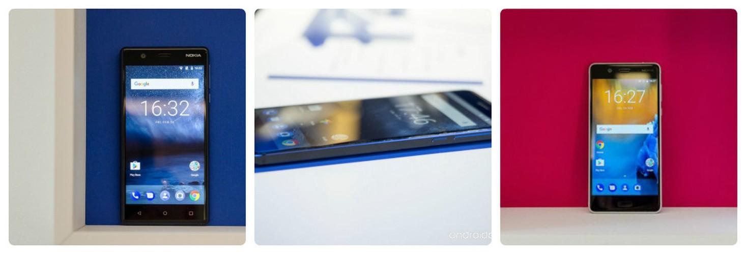 Do dang Nokia 3, Nokia 5 va Nokia 6 vua trinh lang-Hinh-2