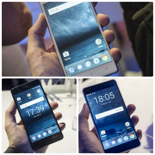 Do dang Nokia 3, Nokia 5 va Nokia 6 vua trinh lang