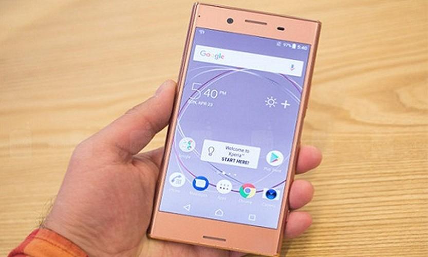 Chiem nguong Sony Xperia XZ Premium mau hong vang