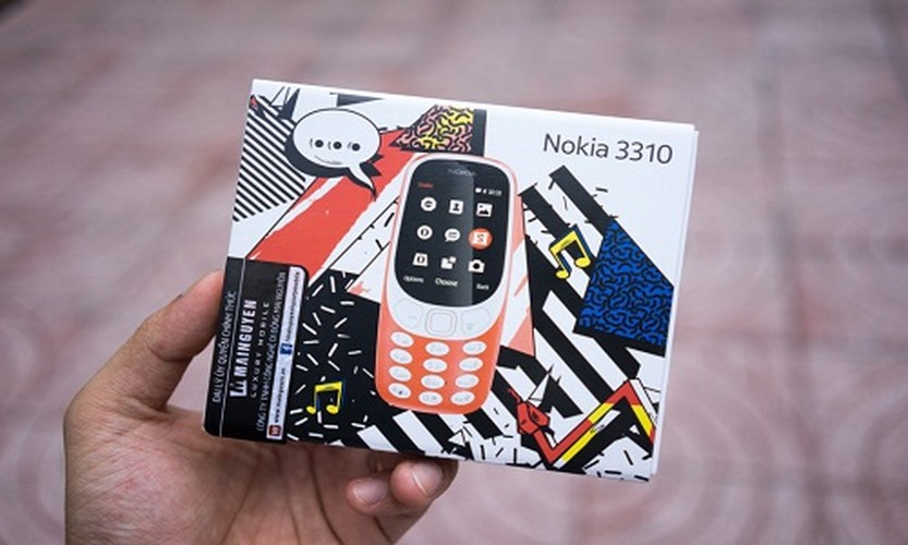 Mo hop Nokia 3310 gia hon mot trieu dong vua ban o Viet Nam