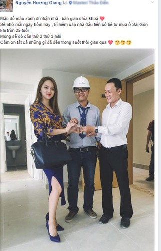 """Huong Giang Idol gay """"choang"""" voi can ho cao cap mau tram-Hinh-2"""