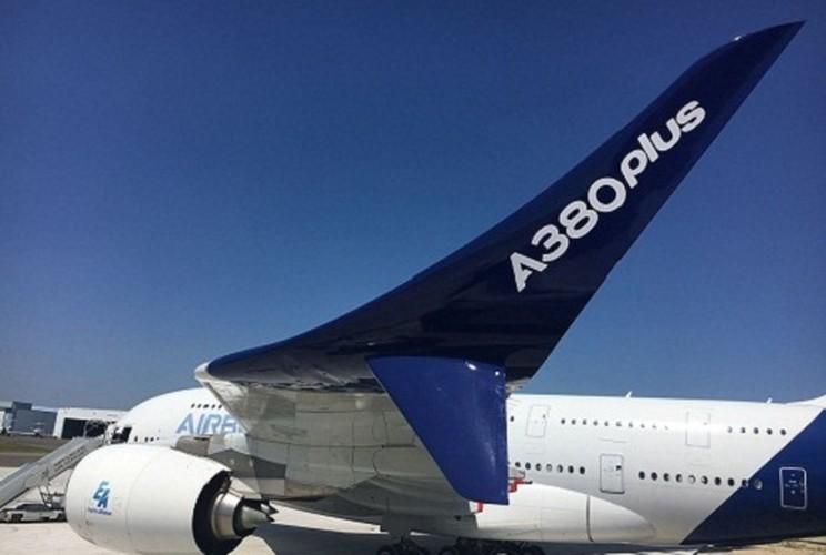 """""""Mo xe"""" may bay lon nhat the gioi Airbus vua ra mat"""