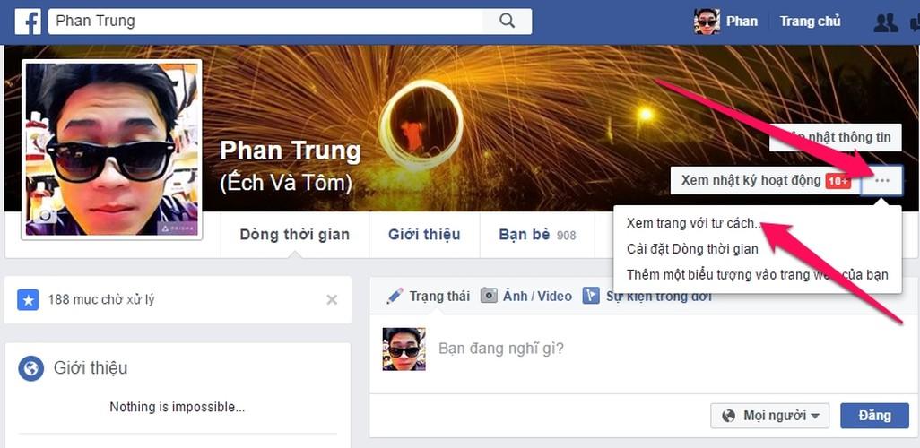 "Cach han che nguoi khac ""dao mo"" nhat ky cua ban tren Facebook-Hinh-2"