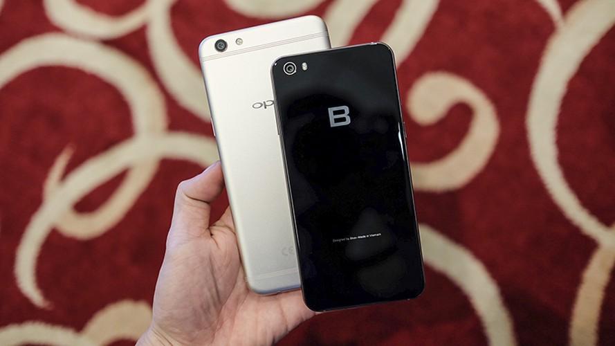 Do suc Bphone 2017 cung doi thu dong gia Oppo F3 Plus-Hinh-3