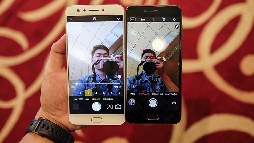 Do suc Bphone 2017 cung doi thu dong gia Oppo F3 Plus-Hinh-5