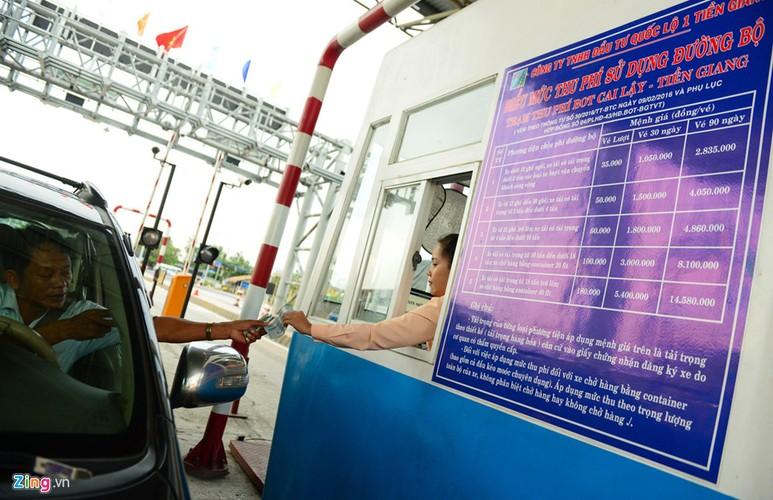 Anh: Hang nghin oto ne tram thu phi Cai Lay-Hinh-7