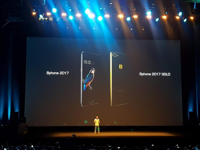 Bphone 2017 ma vang do cau hinh voi Samsung Galaxy S8
