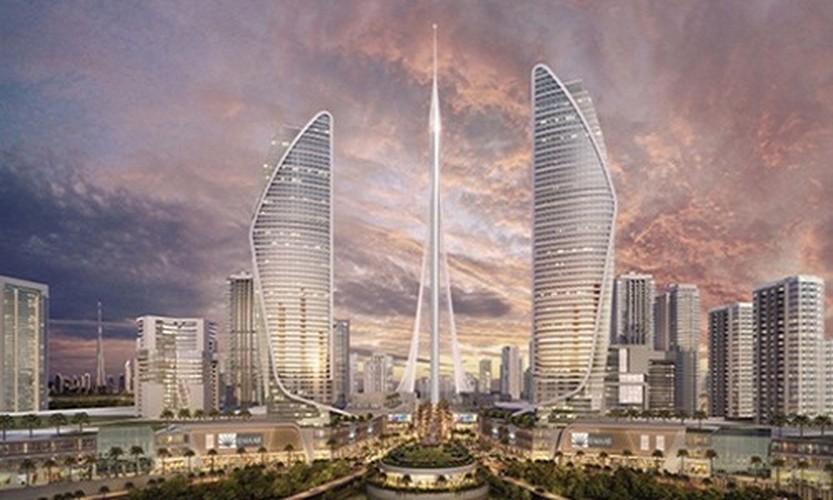 """Anh """"nong"""" toa nha cao nhat the gioi sap moc len o Dubai-Hinh-2"""
