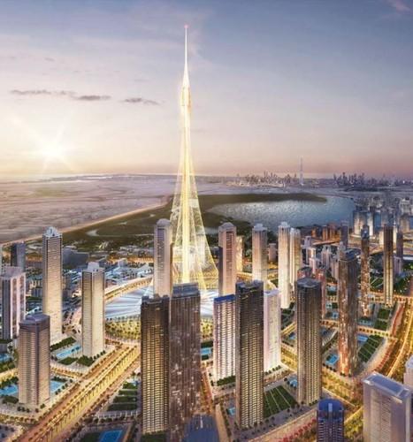 """Anh """"nong"""" toa nha cao nhat the gioi sap moc len o Dubai-Hinh-6"""