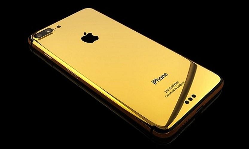 Chiem nguong tan mat iPhone 8 phien ban ma vang cuc chat