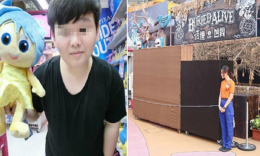 """Ben trong nha """"am phu"""" o Hong Kong khien chang trai thiet mang"""