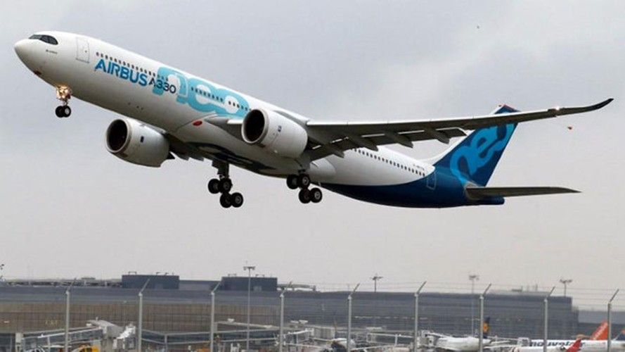 "Ngam may bay A330neo moi toanh cua ""ong lon"" Airbus"