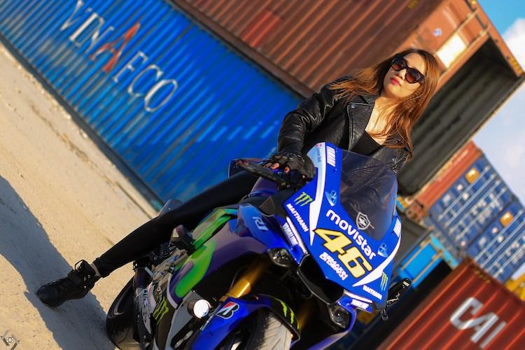 """Nguoi dep Viet """"nai cung"""" sieu moto Yamaha R1-Hinh-11"""