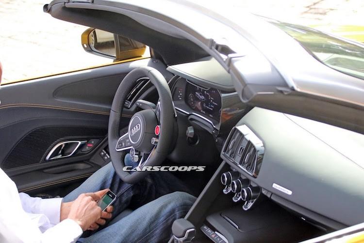 """""""Bat qua tang"""" Audi R8 Spyder 2016 mui tran khong che day-Hinh-5"""