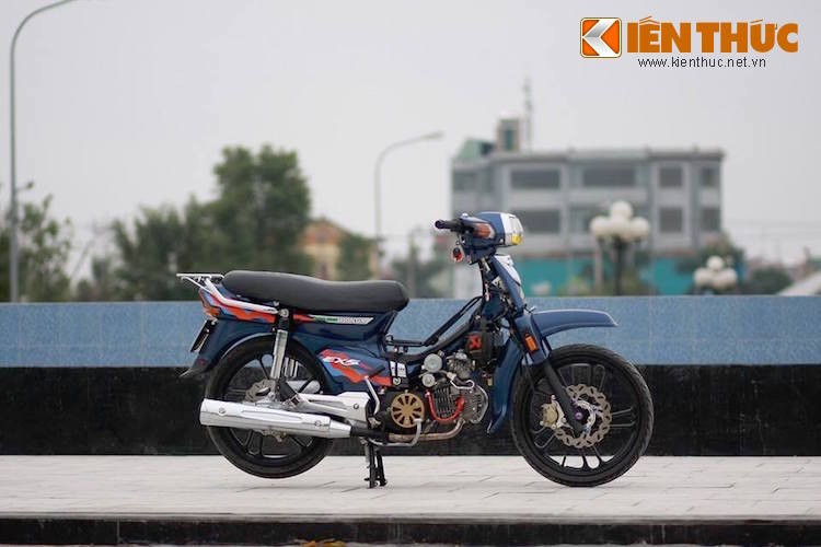 Dan choi Bac Ninh do Honda Dream II sieu chat-Hinh-6