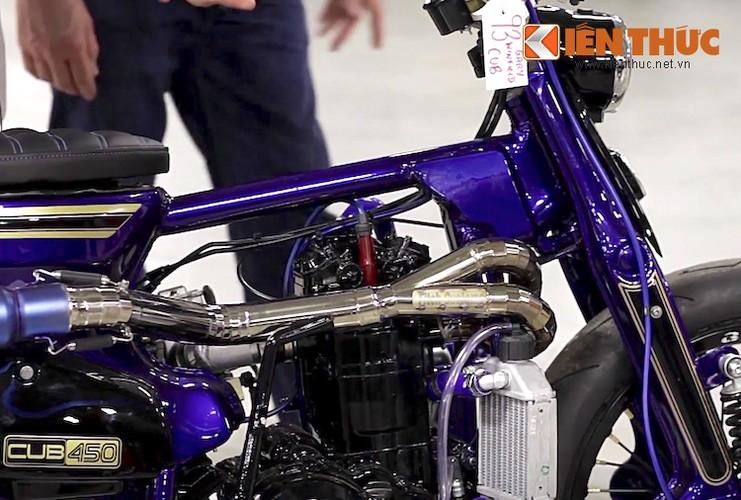 Sieu Cub Honda do may 450cc manh nhat The gioi-Hinh-6