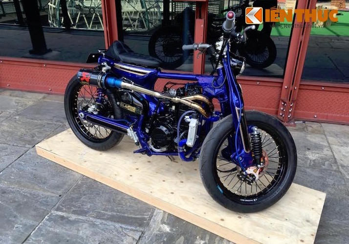 Sieu Cub Honda do may 450cc manh nhat The gioi-Hinh-9