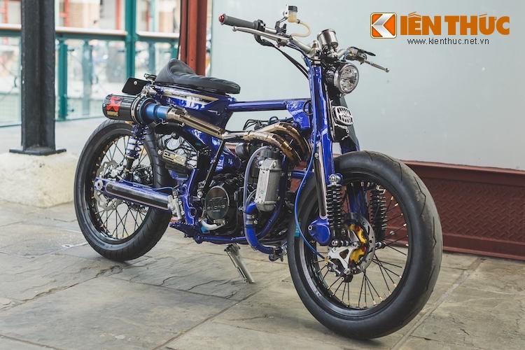 Sieu Cub Honda do may 450cc manh nhat The gioi