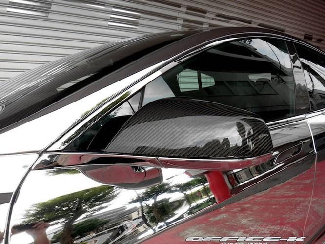 Can canh sieu xe xanh Tesla Model S do chrome tu Nhat-Hinh-5