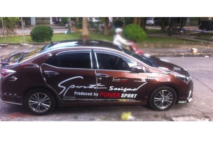 """Toyota Altis 2016 do """"cai luong"""" nhat Viet Nam"""