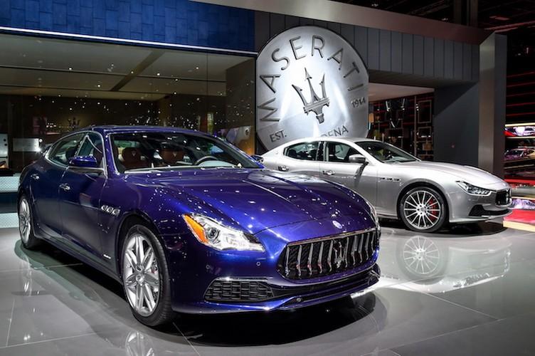 Xe sang Maserati Quattroporte 2017 chinh thuc