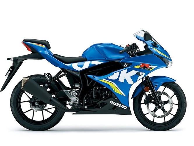 "Suzuki ""trinh lang"" xe moto the thao gia re GSX-R125"