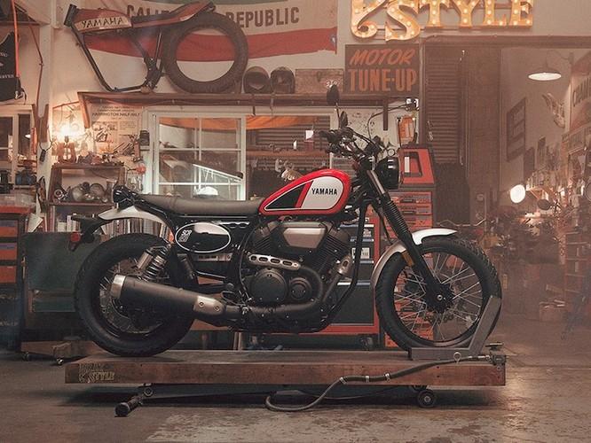 "Yamaha ""nha hang"" moto scrambler hoai co SCR950-Hinh-2"