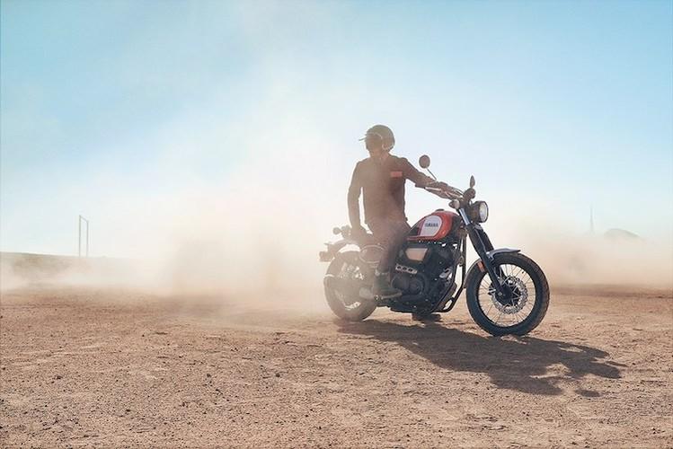"Yamaha ""nha hang"" moto scrambler hoai co SCR950-Hinh-4"