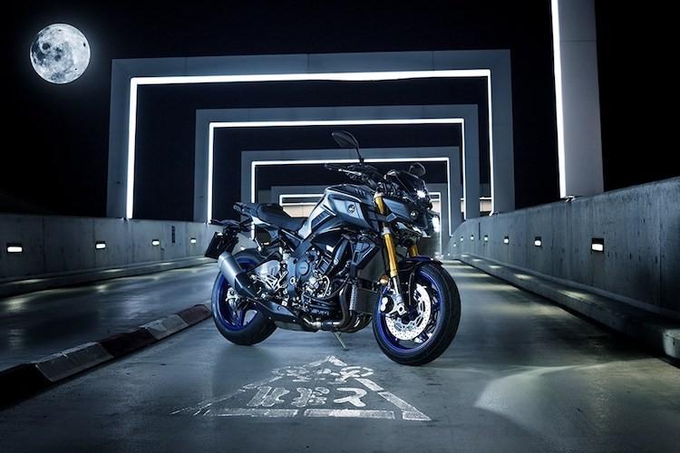 """Yamaha MT-10 SP - Ban """"naked bike"""" cua sieu moto R1M"""