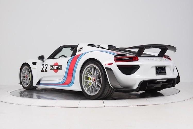 """""""Thuoc doc"""" Porsche 918 Spyder trieu do do tem dau Martini-Hinh-10"""