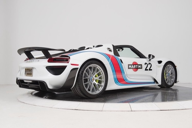 """""""Thuoc doc"""" Porsche 918 Spyder trieu do do tem dau Martini-Hinh-2"""