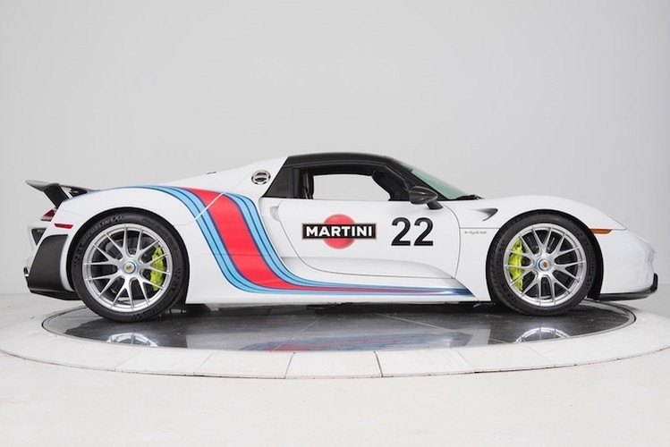 """""""Thuoc doc"""" Porsche 918 Spyder trieu do do tem dau Martini-Hinh-4"""