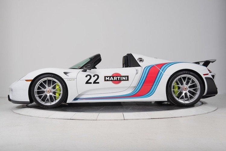 """""""Thuoc doc"""" Porsche 918 Spyder trieu do do tem dau Martini-Hinh-9"""