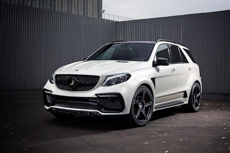 Mercedes-AMG GLE sieu manh voi goi do Topcar hon 400 trieu