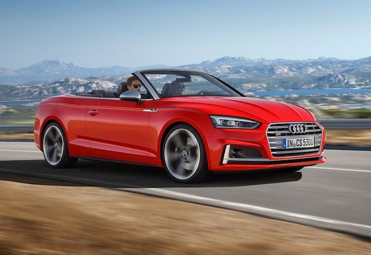 """Audi """"trinh lang"""" mui tran hang trung A5 Cabriolet moi-Hinh-12"""