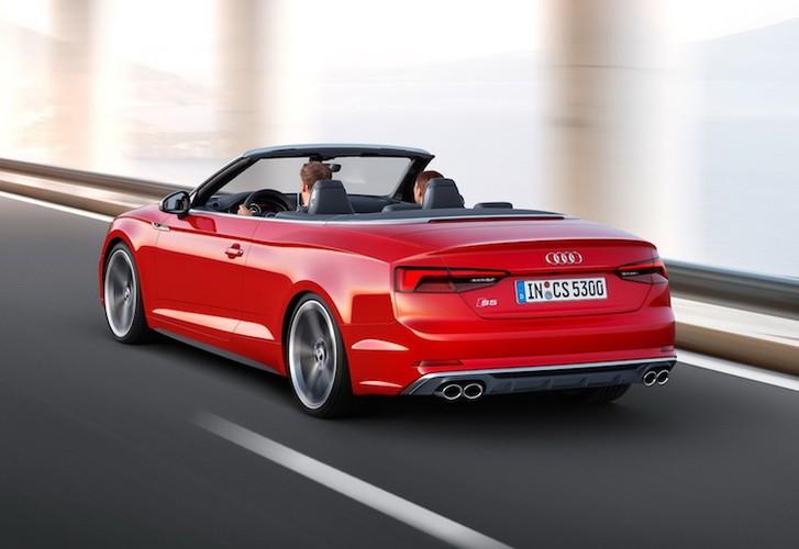 """Audi """"trinh lang"""" mui tran hang trung A5 Cabriolet moi-Hinh-13"""