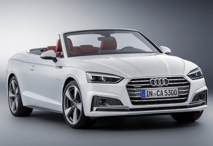 """Audi """"trinh lang"""" mui tran hang trung A5 Cabriolet moi-Hinh-3"""