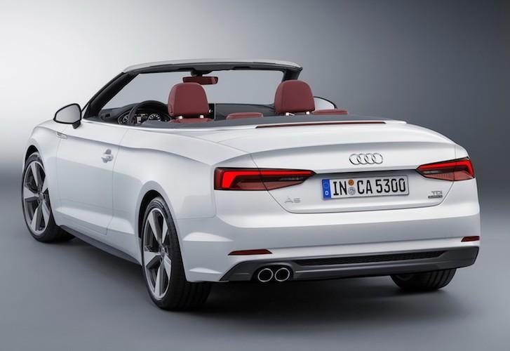 """Audi """"trinh lang"""" mui tran hang trung A5 Cabriolet moi-Hinh-5"""