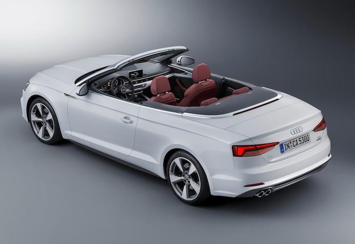 """Audi """"trinh lang"""" mui tran hang trung A5 Cabriolet moi-Hinh-6"""
