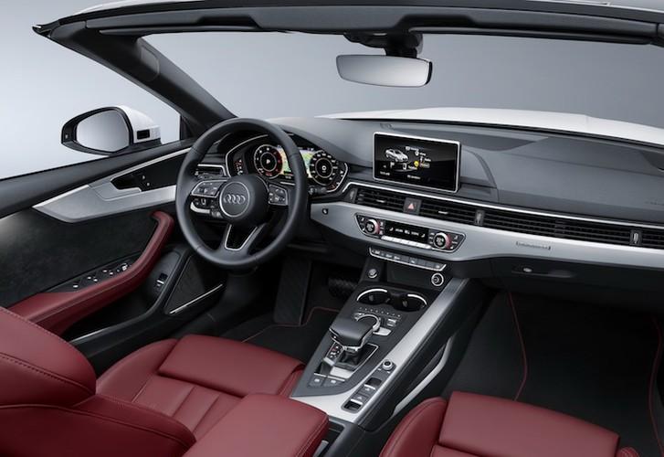 """Audi """"trinh lang"""" mui tran hang trung A5 Cabriolet moi-Hinh-7"""