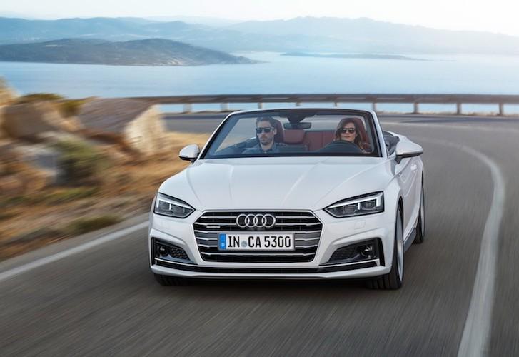 """Audi """"trinh lang"""" mui tran hang trung A5 Cabriolet moi-Hinh-9"""