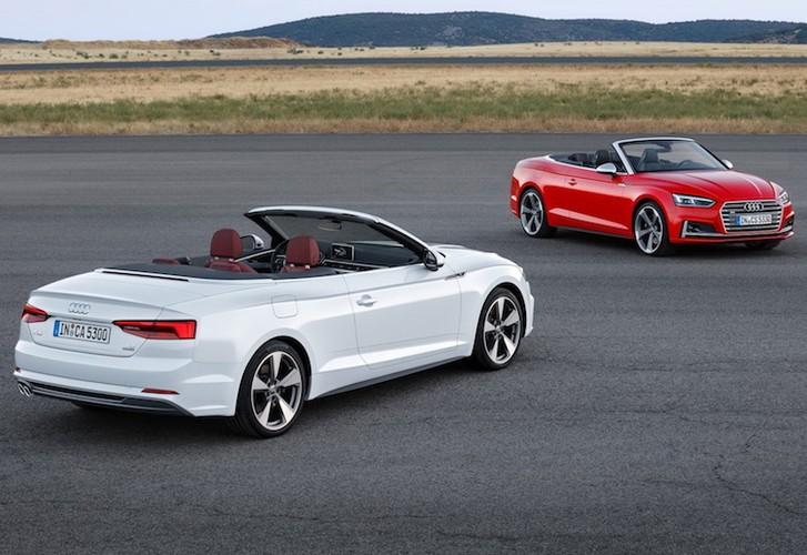 "Audi ""trinh lang"" mui tran hang trung A5 Cabriolet moi"