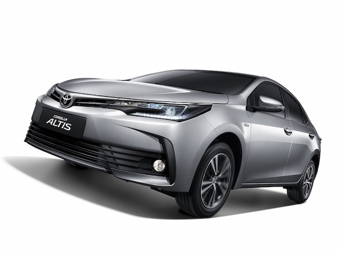 Toyota Corolla Altis 2018 sap ve Viet Nam co gi
