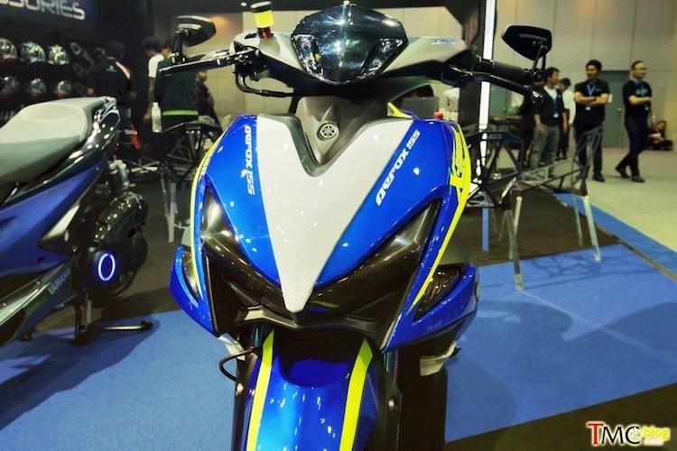 Yamaha NVX 155 voi ban do chinh hang