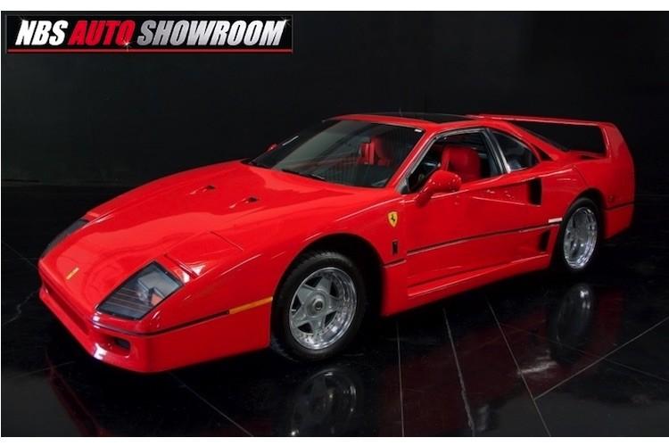 """Xe re tien My """"nhai"""" sieu xe Ferrari F40 gia 293 trieu"""