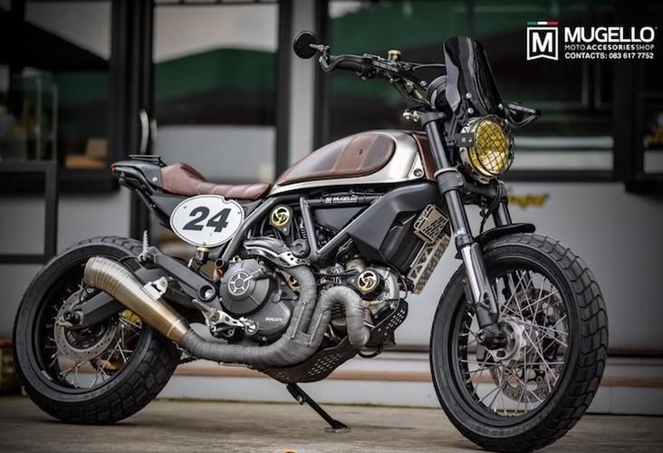 Ducati Scrambler hoai co nhung dam chat choi