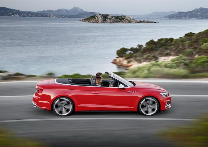 """Mui tran """"sang chanh"""" Audi A5 Cabriolet san sang lo dien-Hinh-11"""