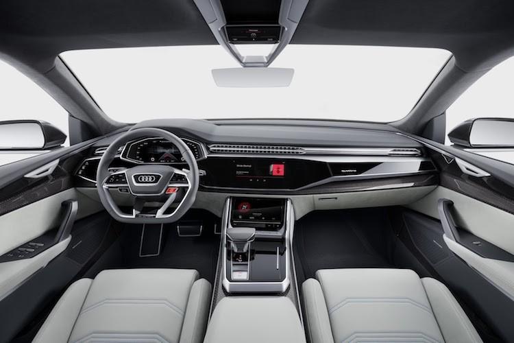 SUV coupe Audi Q8 sang chanh va doc hon Q7-Hinh-5